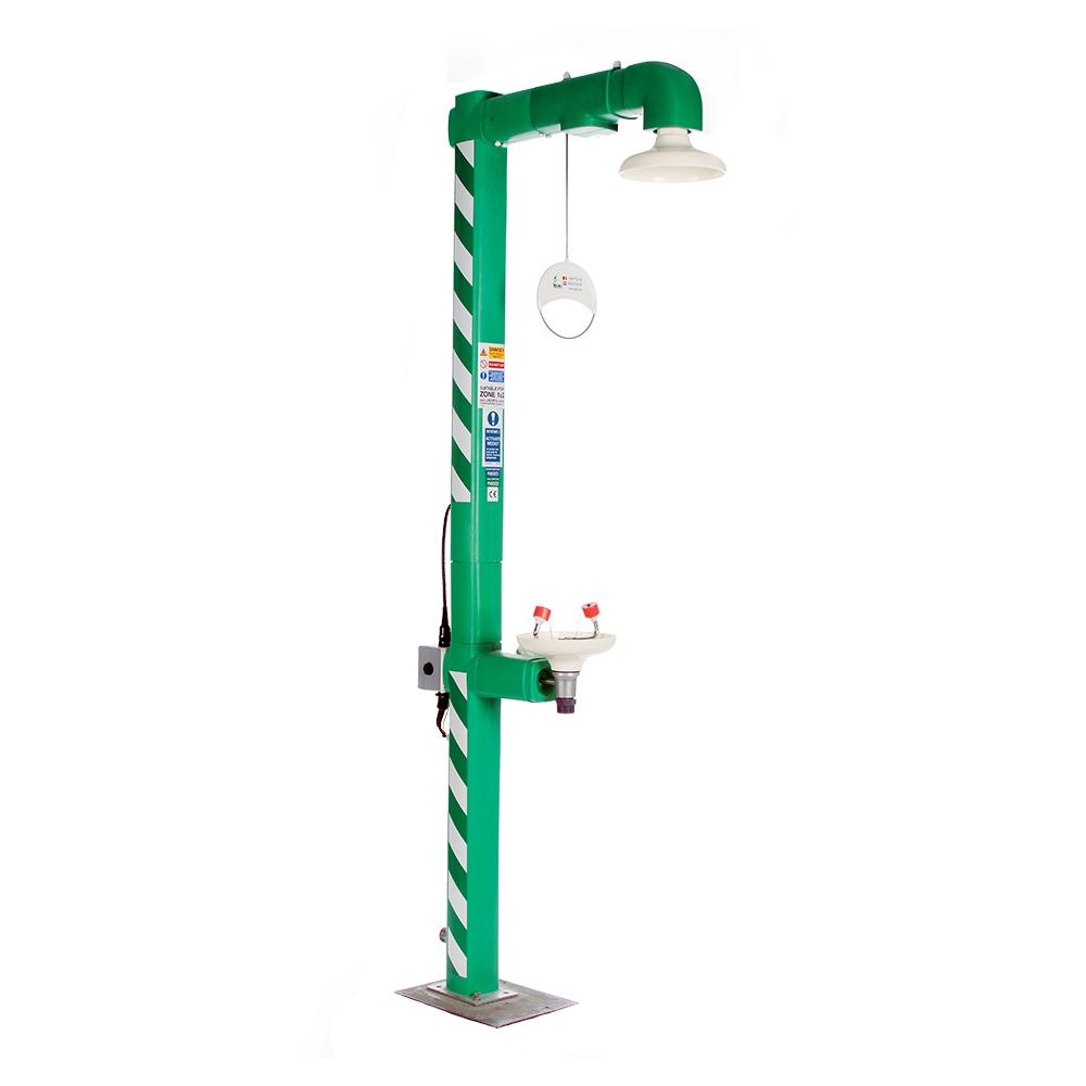 Douche de combination isolée électrique pour installation extérieur CS9320TH-CS9341TH