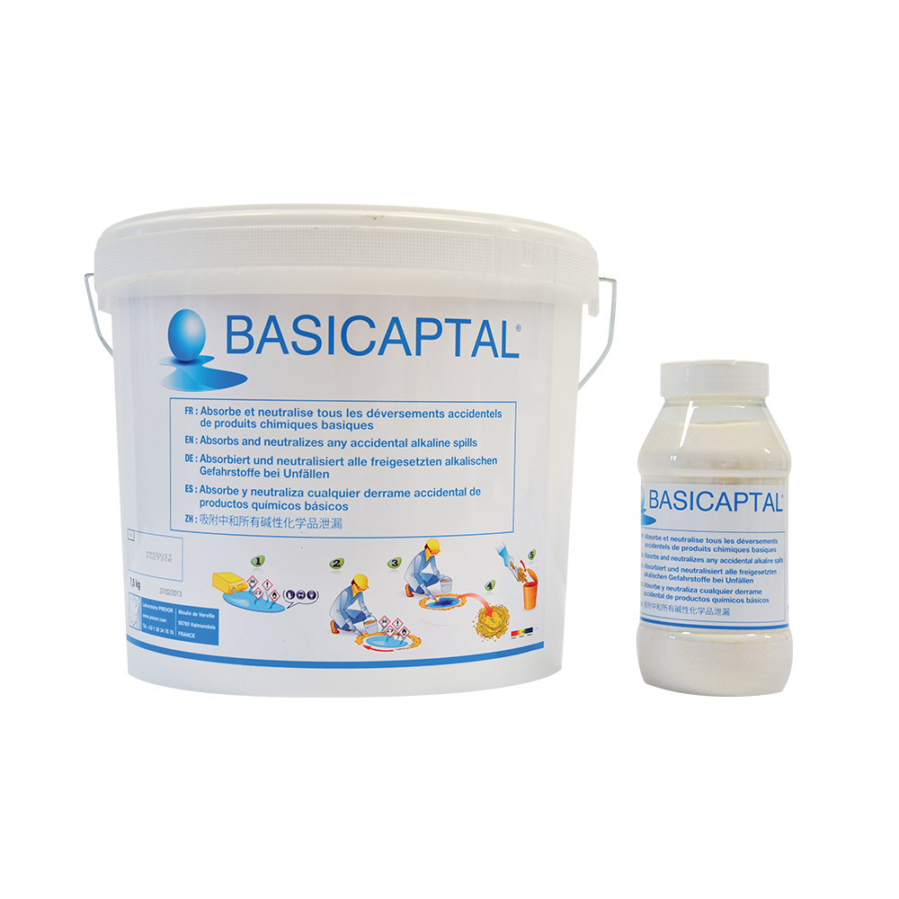 Absorbant neutralisant Basicaptal®